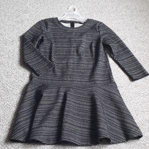 Loft Long Sleeves Midi Dress